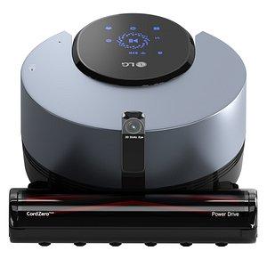 3D LG CordZero ThinQ Robotic Vacuum R9