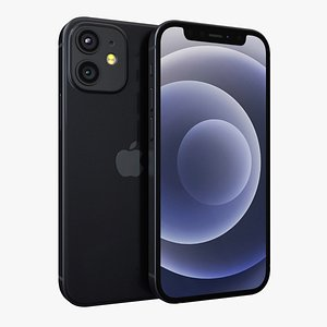 3D iphone 12 apple model