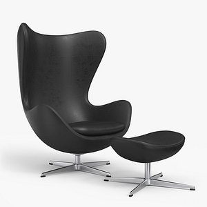 egg lounge chair 3D model