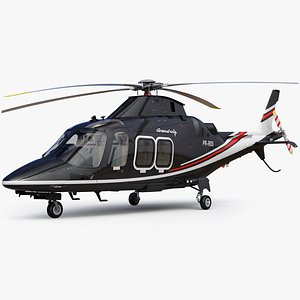 3D model AgustaWestland Leonardo AW109 Grand New