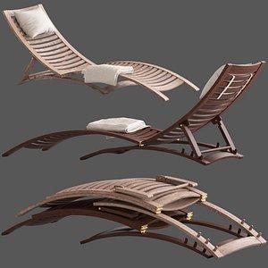3D linea furniture lucca wooden model