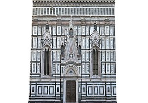 Florence Cathedral 21 model