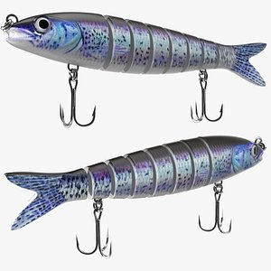 3D Multi Jointed Swimbait Lure