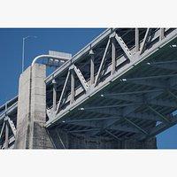 Oakland-San Francisco Bay Bridge 3D Model  Textures