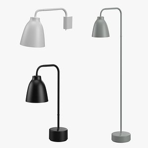 caravaggio lamps 3D model