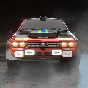 3D alfa romeo gtv turbodelta model