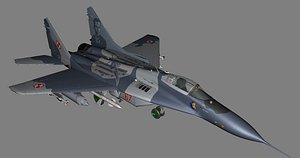 3D MiG-29 Polish model