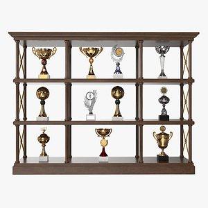 award trophy cup 3D model