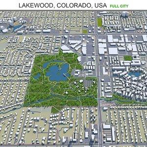 Lakewood Colorado USA 3D model