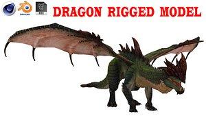 Pteranodon Flying Carnivorous Reptile Flying Pose 3D model