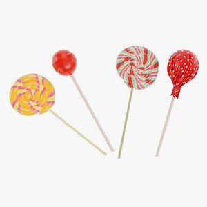 Lollipops model