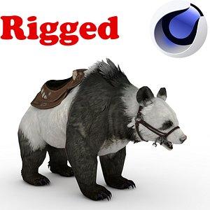 3D Panda BEAR Rigged