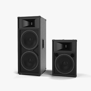 reinforcement speaker loudspeaker 3D model
