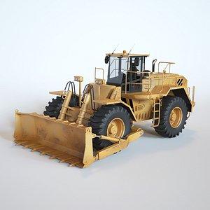 WheelDozer 3D model