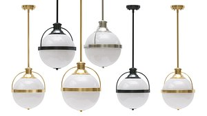 3D hanging lamp westbourne