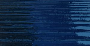 Blue Corrugated Steel Texture