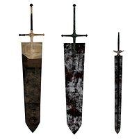 Asta swords - Black Clover
