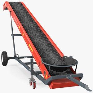 3D model Van Trier Miedema Conveyor Belt ME 100 Farmer Dusty
