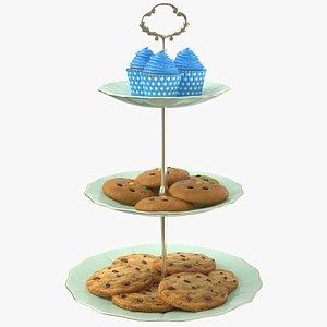 Full Cake Stand 3D model