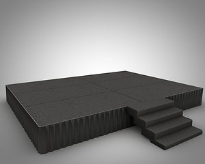 3D model Stage