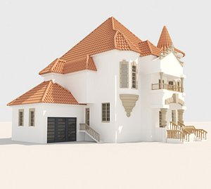 3D Modern Hause