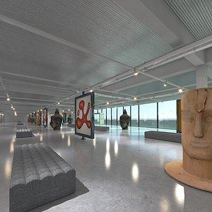 3D Art Gallery 09