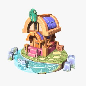 casual house 3D model