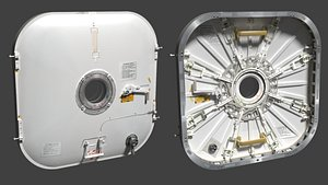 3D hatch space station common model