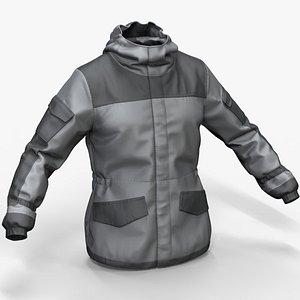jacket gorka 3D model
