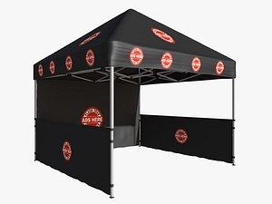 3D tent event 4x4