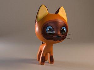 3D Kitten Gav