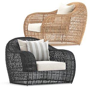 3D balou lounge chair model