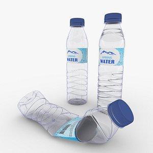 Plastic Water Bottle Small model