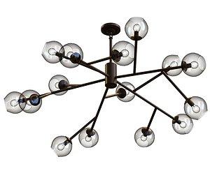 3D chandelier lamp lights