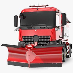 gritter truck simple interior model