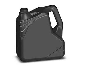 Car oil 4lts 3D model
