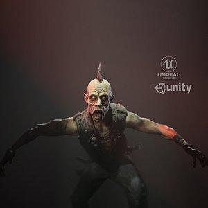 character unreal 3D model