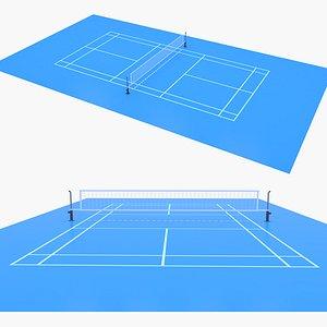 3D Badminton Court