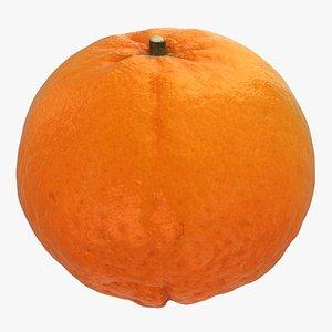 mandarin 3D model