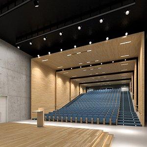 3D auditorium interior