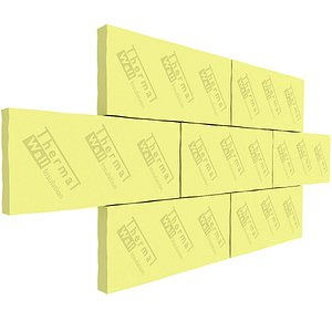Mineral Wool Thermal Insulation model