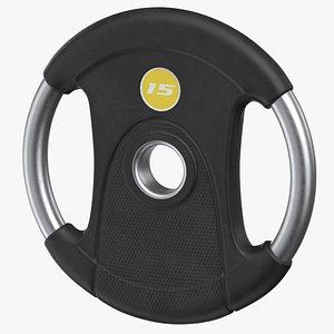 3D weight plate r 15