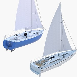 3D Yachts Collection 4