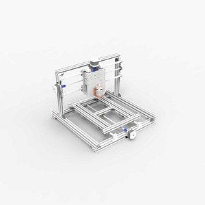 3D cnc prototype