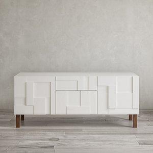 Pinch Alba Sideboard 3D model