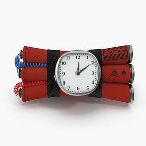 bomb time 3D model