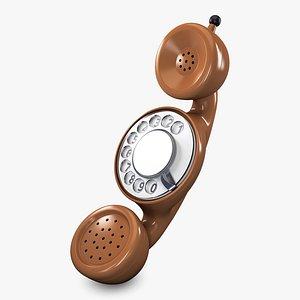3D Funny Rotary Mobile Phone v 1