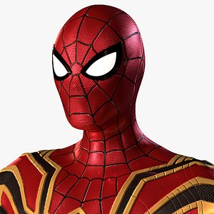 iron-spider suit avengers 3D