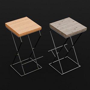 3D chair bar loft