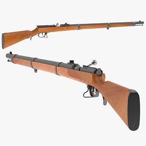 3D model Dreyse needle gun